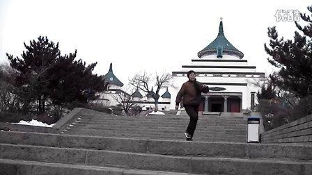 练鬼步舞(K2)