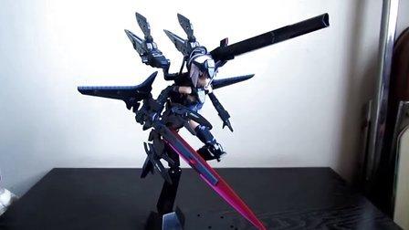 武装神姬 异色天使型安瓦尔MK2暴风评测
