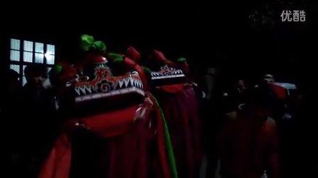 【2015正月十五】武汉市黄陂区李集街陈家岗醉狮犟狮子『4』