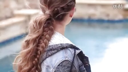 How to Create a Viking Braid Ponytail  Combo Hairstyles - Standard Quality 360p
