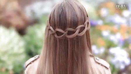 Loop Waterfall Braid  Cute Hairstyles