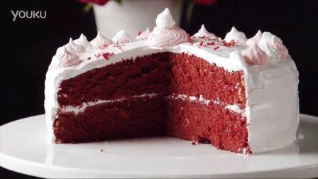 制作宝宝甜点:自制红色天鹅绒蛋糕