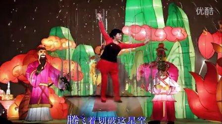 风中梅花广场舞:正月十五闹花灯   刘荣老师编舞  江源老师制作