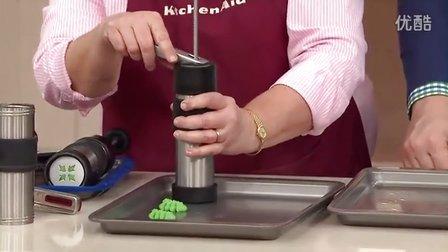 【魔幻厨房】美国原装进口KitchenAid品牌12花形不锈钢材质曲奇枪