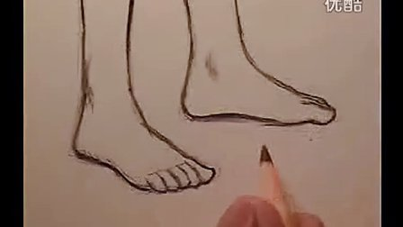 Mark Crilley漫画教程054#动漫人物的脚_无字幕_标清_传书