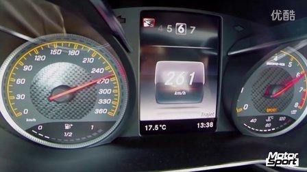 Motorsport测试 Mercedes AMG GT S 0-260 km-h加速