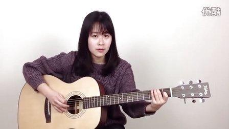 呆萌妹子Nancy教你弹吉他:Come As You Are 吉他教学 吉他教程