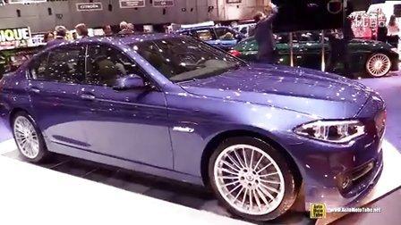 2015日内瓦 阿尔宾娜改装宝马5系 BMW Alpina B5 Bi-Turbo Edition 50 600hp