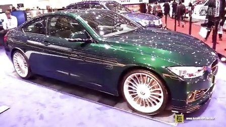 2015日内瓦 阿尔宾娜改装宝马4系 BMW Alpina D4 Bi-Turbo Coupe