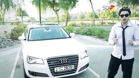 2015 试驾评测奥迪旗舰 Audi A8L W12