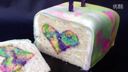 彩虹生日蛋糕制作方法