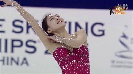 李子君 2015花样滑冰世锦赛 短节目 SP  Zijun LI