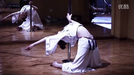 【阿甘制作】超美的古典  钢管舞 跳的我也是醉了
