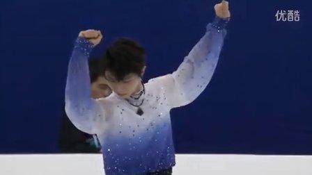 羽生结弦 2015花样滑冰世锦赛 短节目 Yuzuru HANYU 2015 Worlds SP
