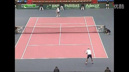 2002 Davis Cup 俄罗斯VS阿根廷 萨芬VS切拉 (自制HL)