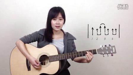 Yellow - Coldplay酷玩乐队 - 呆萌妹子Nancy吉他教学 吉他教程