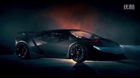 TopGear评测试驾兰博基尼超帅气第六元素超级跑车Lamborghini Sesto Elemento