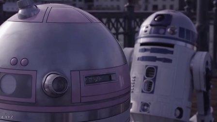 星球大战的小机器人 R2-D2 恋爱了