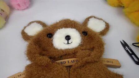 【泡泡编织】 第54集 小熊马甲 泡泡编织 视频教程 织毛衣