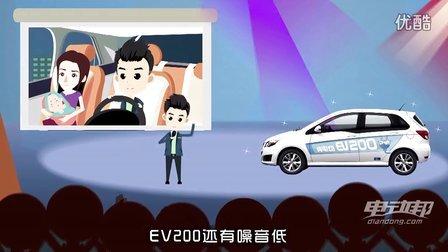北汽新能源EV200纯电动车