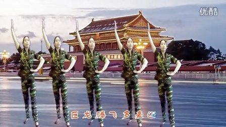 新版《五星红旗飘起来》萧山青青广场舞