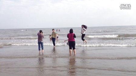 """广西防城港市海边旅游景点""""白浪滩"""""""