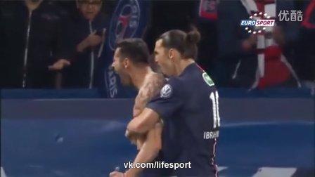 [高清全场精华]法国杯-伊布帽子戏法 巴黎主场4-1击败圣埃蒂安