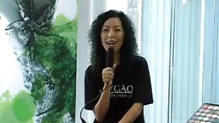 香港 Amy Gao 化妝學校學員 Karen-空姐退休想學化妝做化妝師,化妝比賽取得全場新娘化妝髮型冠軍