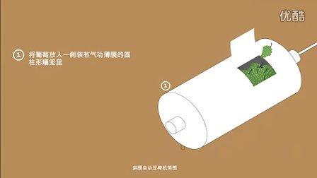 pressoirs membrane laterale   斜膜自动压榨机