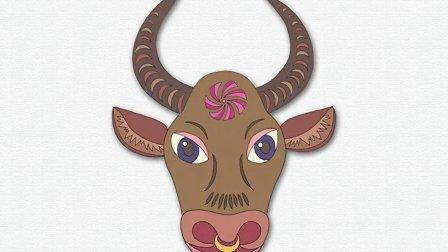 汉字演变—牛