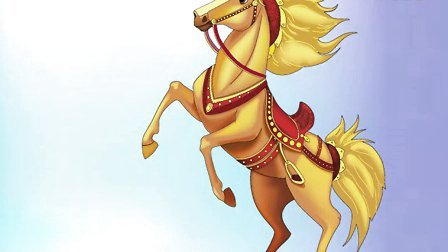 Chinese Character Evolution—Horse