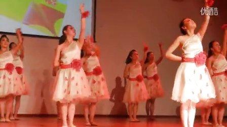 舞蹈《爱在天地间》富源六中艺术团