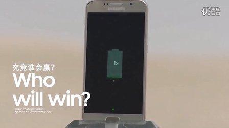 极速对决!Galaxy S6挑战人肉飞行器!