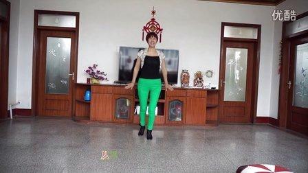 平度北高家紫叶广场舞--绿旋风