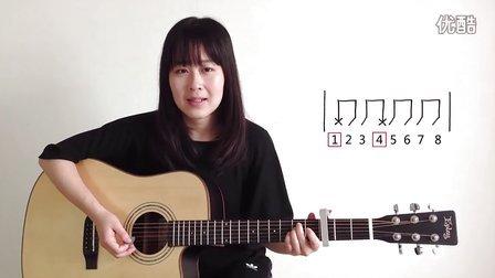 生命是场马拉松 - 旅行团 - 呆萌妹子Nancy吉他教学 吉他教程