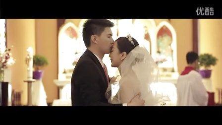 绯系视觉作品 | 成都平安桥教堂婚礼电影
