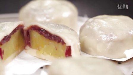 【大吃货爱美食】与狗共厨——经典日式小甜点 茨木团子~ 150522
