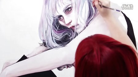 【失逝】水彩教学视频 - waiting place