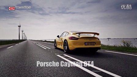 保时捷Porsche Cayman GT4 加速实录