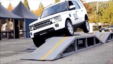 2015 路虎发现4场地交叉轴越野四驱展示 Range Rover Discovery