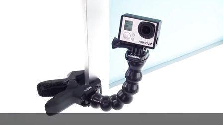GoPro:夹具使用教程