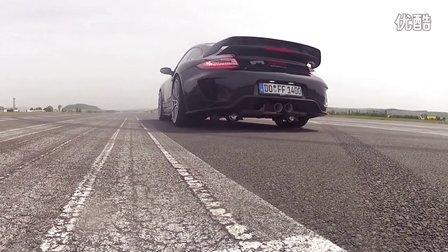 1400马力 9ff 911 GTronic - 0-300 km-h 加速仅14秒