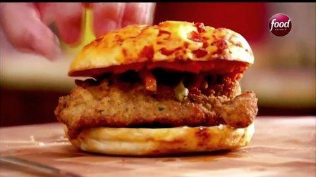 【大吃货爱美食】三明治大王——意式科米斯基三明治150605