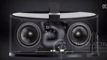 B&W音响低音单元产品演示_5S-形动视觉
