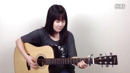 关于我爱你 - 张悬 - 呆萌妹子Nancy吉他教学 吉他教程