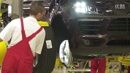 2015 保时捷Macan SUV 德国工厂生产线生产实拍展示