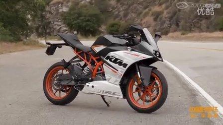 5款入门运动摩托对比评测之KTM RC390