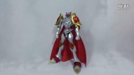 【妖.114】万代D-arts 数码宝贝第三季-红莲骑士兽