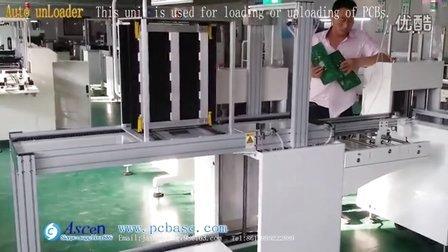 Automatic PCB unloader/smt unloader/Magazine unLoader/unloader machine for PCBs