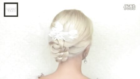 【Elegant Touch雅致格调】高髻婚礼编织发型教程